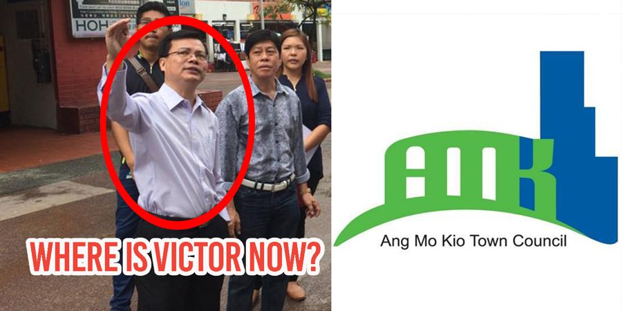 Author Amk >> Amk Town Council S Former Gm Victor Wong Is Missing A Year After
