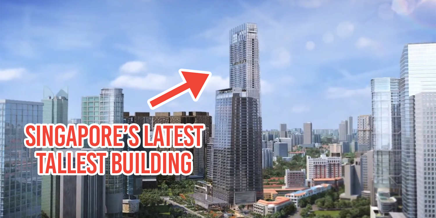 Singapore 39 s tallest building isn 39 t just an office it for Tallest hotel in singapore