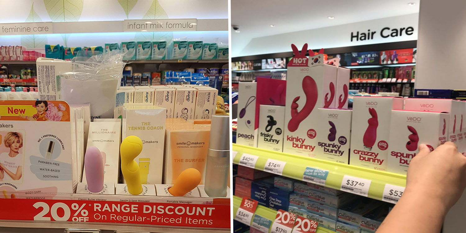 Watsons And Guardian Continue Selling Vibrators On Shelves, After Don -3558