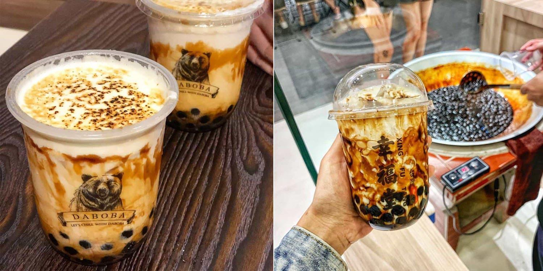 kl bubble tea street