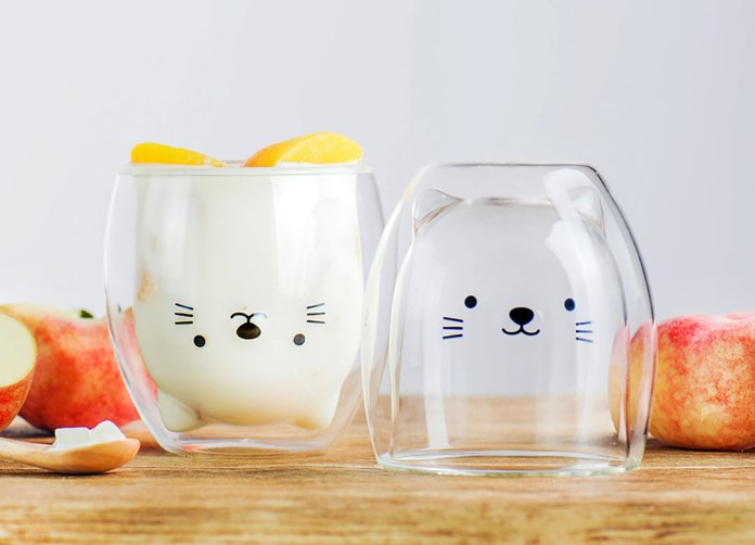 This Adorable Shiba Inu Glass Keeps Your Drink Warm