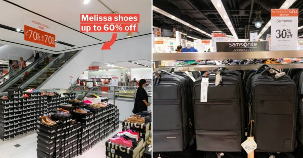 Metro's Moving Out Sale Has Up To 90% Off Skechers, Samsonite, Nerf Guns & More Till 6 Oct