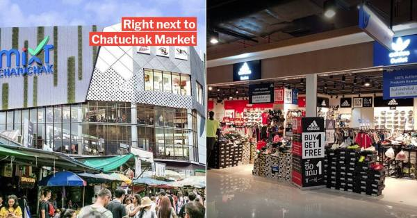 Bangkok's New Mixt Chatuchak Mall Has 700 Air-Conditioned Shops So You Can Siam The Heat