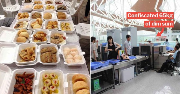 S'poreans Caught At Manila Airport For Bringing 150kg Worth Of Fruits & Dim Sum Without A Permit