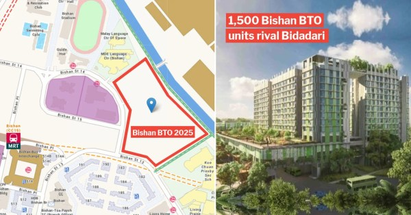 Elusive 1,500 Bishan BTO Flats Are 5 Mins From The MRT, First New Units Built In 13 Years