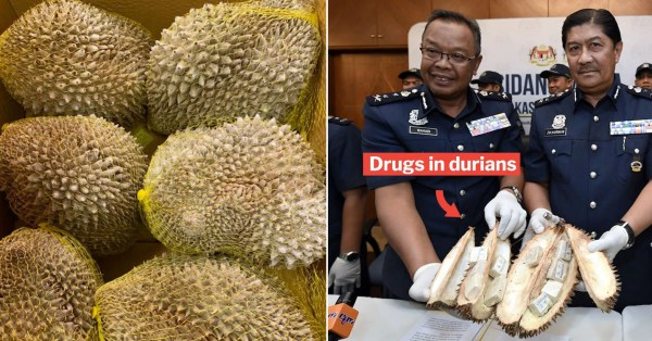M'sian Woman Hides Drugs In Durians & Tries Smuggling Them, Officers Sniff Out Her Plans