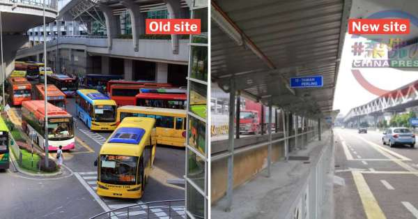 JB Sentral Bus Terminal West Zone Bus Services Will Move To Other Side Of Road On 17 Nov