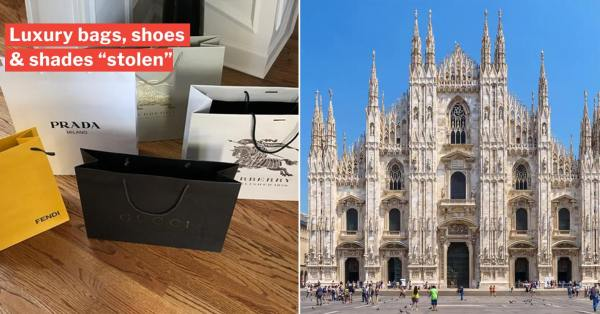 S'porean Woman Loses $15,000 Worth Of Branded Goods In Milan Airbnb, Warns Other Europe Travellers