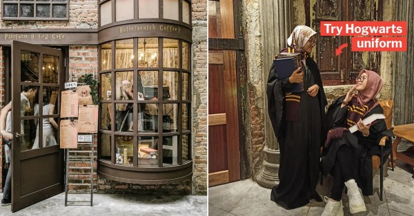 M'sia Has A Harry Potter Café That Lets You Lepak & Drink Butterbeer At 'Diagon Alley'