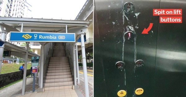 Saliva Stains Allegedly Found All Over Rumbia LRT Station Lift Buttons, Police Report Lodged