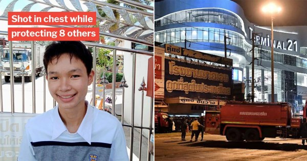 18-Year-Old Thai Teen Sacrifices Life To Save Others In Terminal 21 Mall Shooting, Becomes National Hero