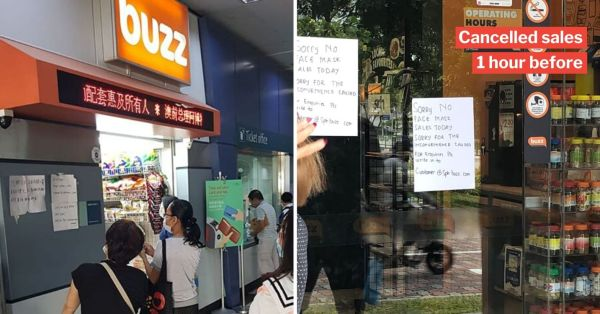 Buzz S'pore Cancels Mask Sales After Getting Complaints, Donates Them To Charities Instead
