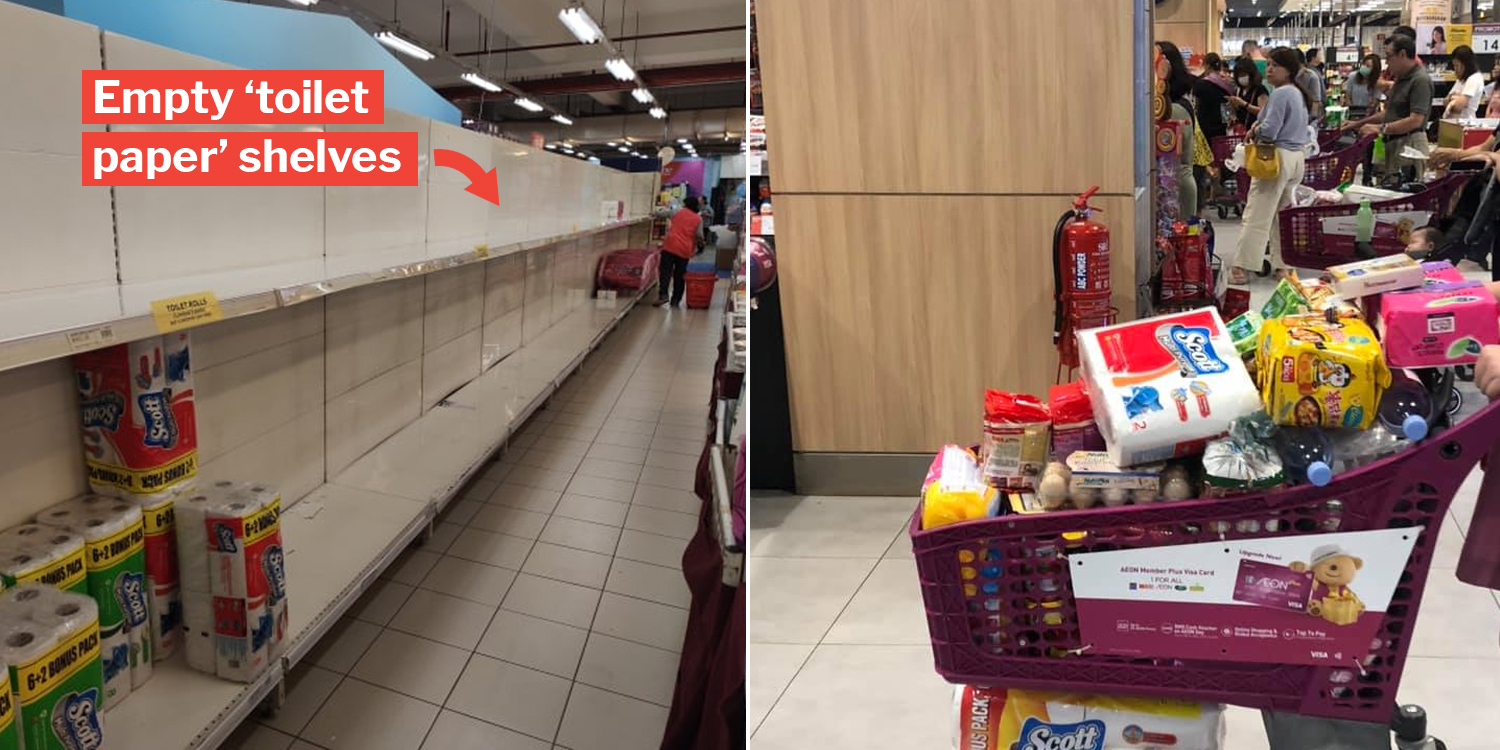 Penang Supermarkets Wiped Clean Of Toilet Paper After State ...