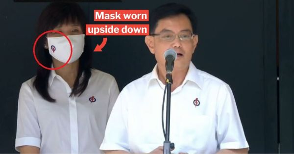 GE2020 Nomination Day Bloopers Steal The Show, From Muted Mics To Mask Muddles