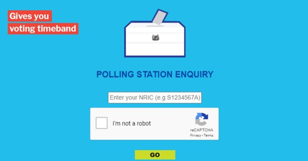 This Website Tells You Where Your GE2020 Polling Station Is, Also Lets You Check Queue