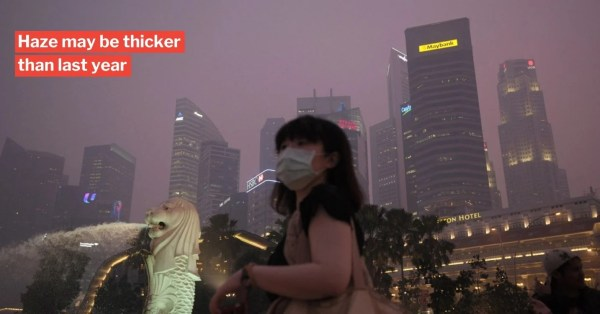 Haze May Hit S'pore Soon As Indonesia Reports 700 Fires, Keep Your Masks On