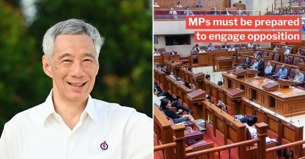 PM Lee Tells PAP MPs They Must Attend All Parliament Sittings, They'll Have Ample Chance To Speak