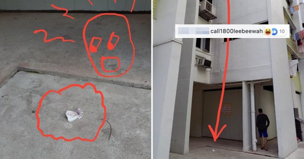 Sanitary Pad Reportedly Thrown From Tampines HDB, Netizens Ask Lee Bee Wah For Help
