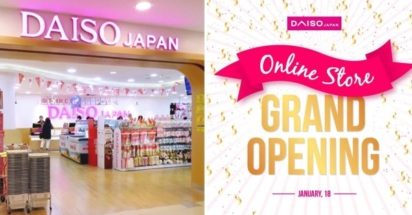 Daiso S'pore Launches Online Store, $2 Stationery & Everyday Essentials Just A Click Away Now