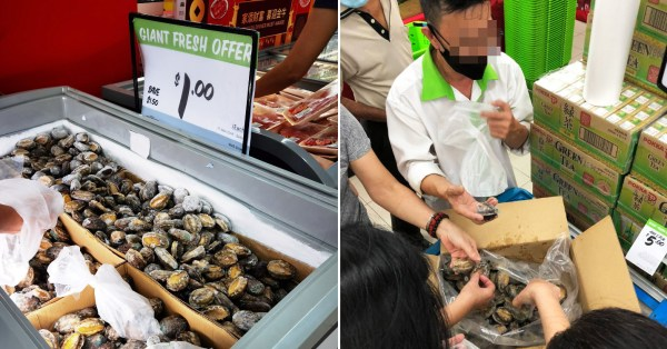Giant Has $1 Abalone So Your Fam Can Feast Like Royalty During CNY Dinners