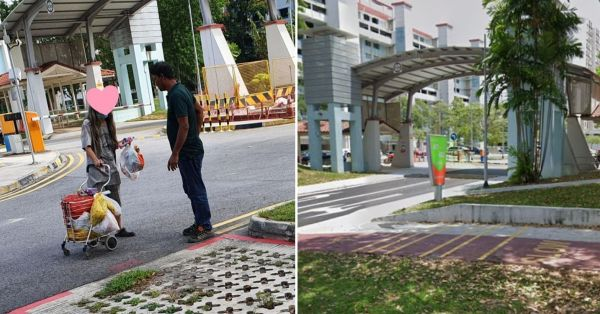 Migrant Worker Donates To Auntie Scavenging In Bedok Carpark, Generosity Moves Netizens