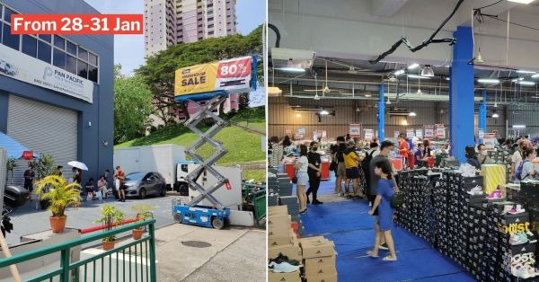 Redhill Warehouse Sale Has Up To 80% Off Nike & Adidas Shoes So You Can Get New Kicks For CNY