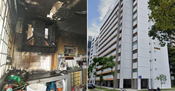 Tampines HDB Unit Catches Fire After Siblings Try To Fry Nuggets, SCDF Extinguishes Flames