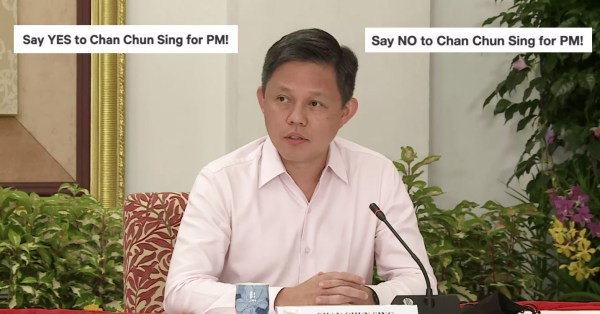 S'poreans Start Online Petitions For Chan Chun Sing As Next PM, Some Say Yes & Some Say No