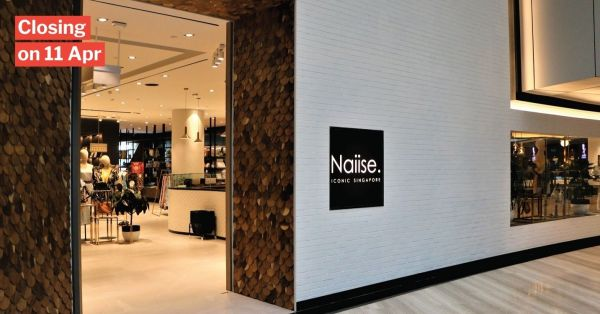 Naiise To Close Last Physical Store At Jewel Changi & Return To Online Sales Only