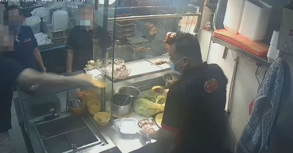 Man Hurls Plate Of Meat At Bedok Chicken Rice Stallholder, Police Report Lodged