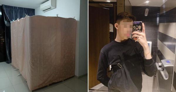 M'sian Told He Can Rent A Room In Khatib For $550/Month, Turns Out It's Just Partitioned Space