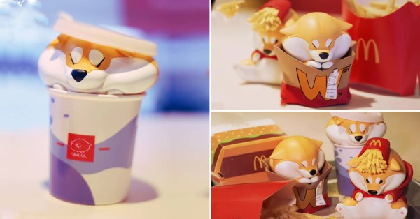 These Doge Fast Food Toys Are All The Comfort You Need With Your McSpicy Meal