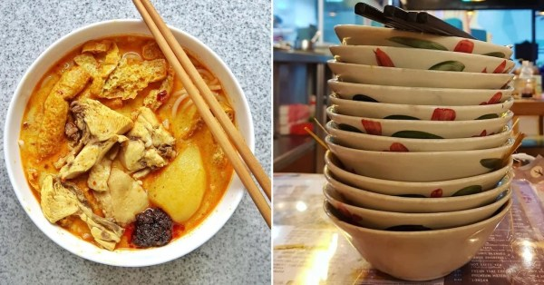 Auntie Finishes 10 Bowls Of Curry Noodles In 45 Mins, Gets Them For Free