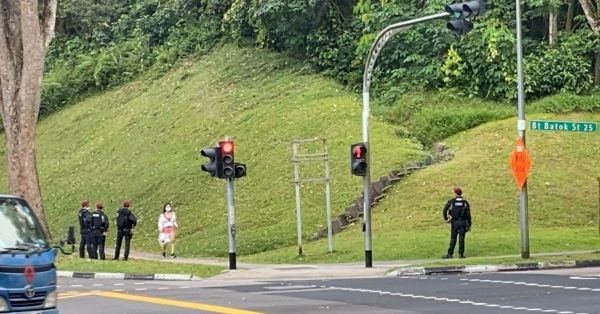 6 Men Allegedly Enter S'pore Illegally, Officers Seal Bukit Batok Nature Park To Catch Them