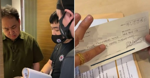 Debt Collectors Visit Lim Tean's Office & Livestream Entire Process To Recover Money Owed
