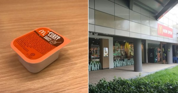 S'pore Customer Requests For McDonald's Curry Sauce, Delivery Rider Brings One From Home