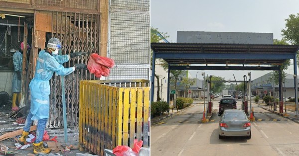 Elderly Man's Corpse Found At Pasir Panjang Wholesale Centre, He Died Of Natural Causes