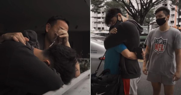 Helper Bids S'pore Family Goodbye After 14 Years, They Tear Up When She Leaves