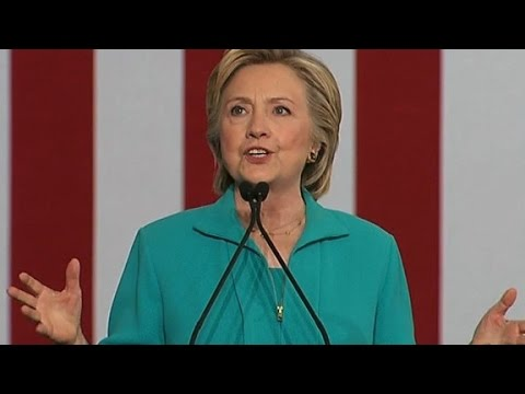 Clinton: Trump spreads message of white supremacists