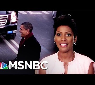 Tamron Hall On The 2009 Presidential Inauguration Of Barack Obama | MSNBC