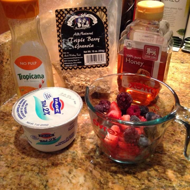 My Delicious Berry Smoothie