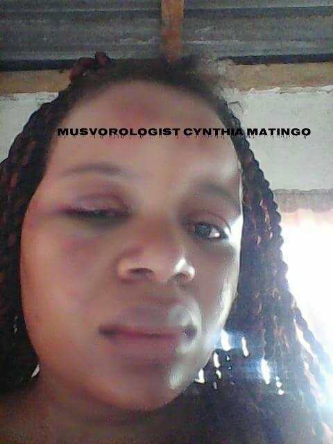 Married Cynthia Tatenda Matingo in cheating fracas again