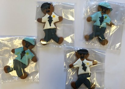 Yummy gingerbread figures