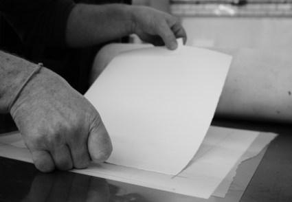 Placing-paper