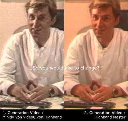 Links die bisherige Qualität auf youtube, rechts die Originalqualität von 1988