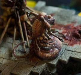 wet nurse diorama mutant tentacle
