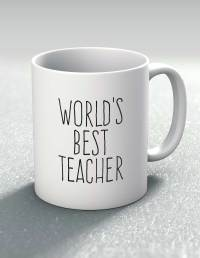 World's Best Teacher Mug - Mutative Mugs