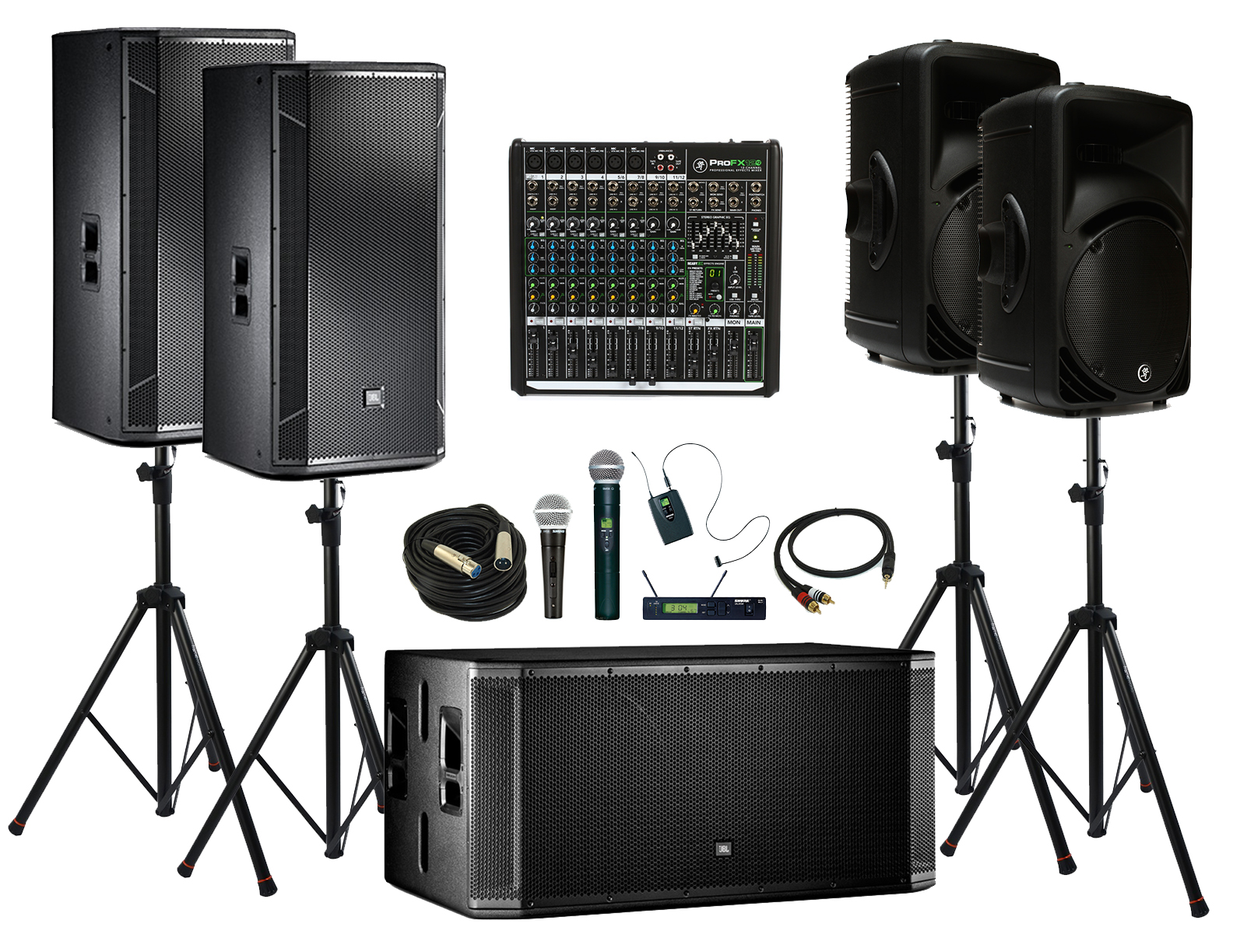 event microphone and speaker rental in kansas city topeka st joseph