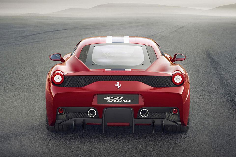 Ferrari 458 Speciale Rear