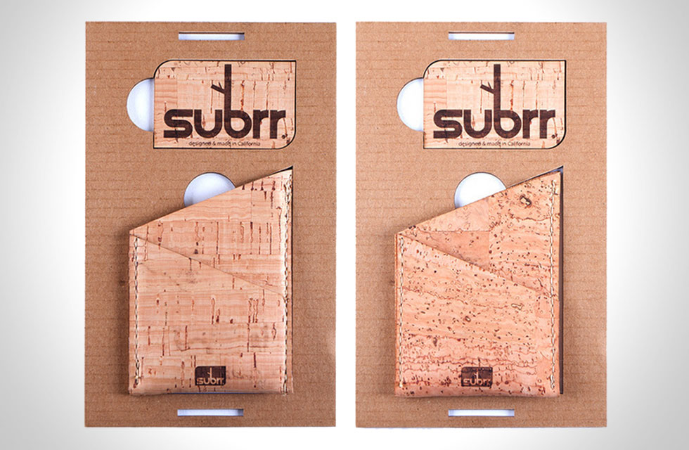 Best Mens Wallets | Cork Wallet by Spurr